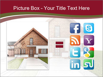 Classic house design PowerPoint Template - Slide 21
