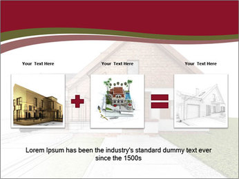 Classic house design PowerPoint Template - Slide 22