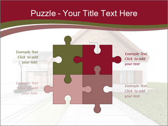 Classic house design PowerPoint Template - Slide 43
