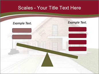 Classic house design PowerPoint Template - Slide 89