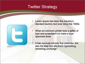Classic house design PowerPoint Template - Slide 9