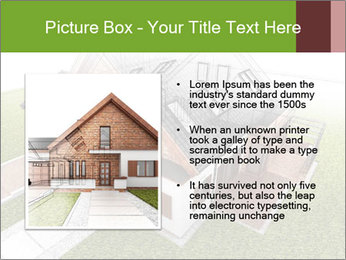 Classic house design PowerPoint Template - Slide 13