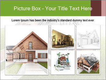 Classic house design PowerPoint Template - Slide 19