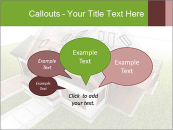 Classic house design PowerPoint Template - Slide 73