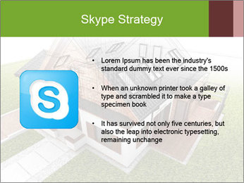 Classic house design PowerPoint Template - Slide 8
