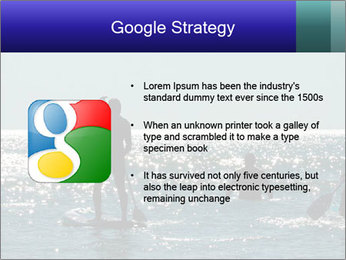 Group on the water PowerPoint Template - Slide 10