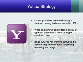 Group on the water PowerPoint Template - Slide 11