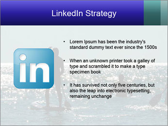 Group on the water PowerPoint Template - Slide 12