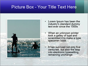 Group on the water PowerPoint Template - Slide 13