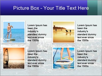 Group on the water PowerPoint Template - Slide 14