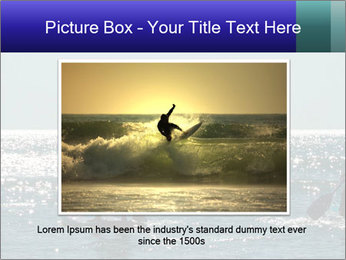 Group on the water PowerPoint Template - Slide 16