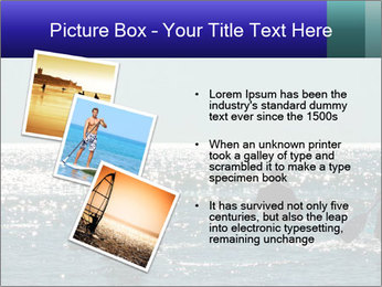 Group on the water PowerPoint Template - Slide 17