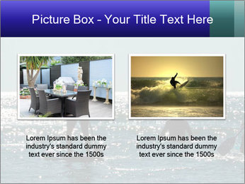 Group on the water PowerPoint Template - Slide 18