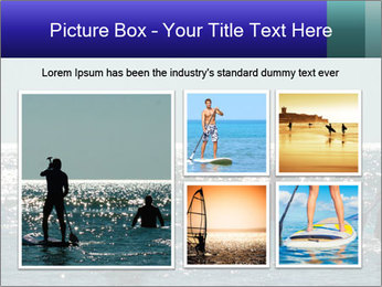 Group on the water PowerPoint Template - Slide 19