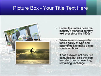 Group on the water PowerPoint Template - Slide 20