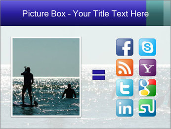 Group on the water PowerPoint Template - Slide 21