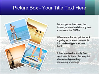 Group on the water PowerPoint Template - Slide 23