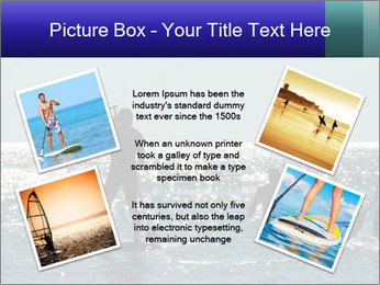 Group on the water PowerPoint Template - Slide 24