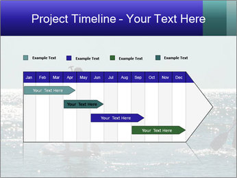 Group on the water PowerPoint Template - Slide 25