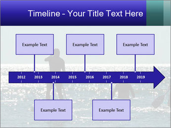 Group on the water PowerPoint Template - Slide 28