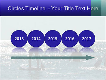 Group on the water PowerPoint Template - Slide 29