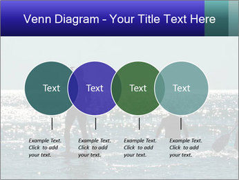 Group on the water PowerPoint Template - Slide 32