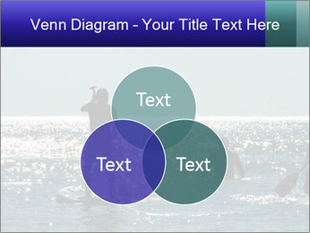 Group on the water PowerPoint Template - Slide 33