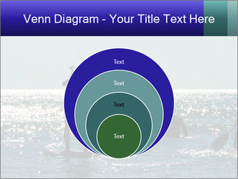 Group on the water PowerPoint Template - Slide 34