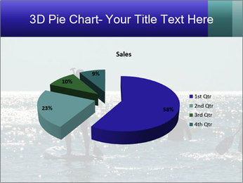 Group on the water PowerPoint Template - Slide 35