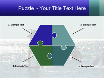 Group on the water PowerPoint Template - Slide 40