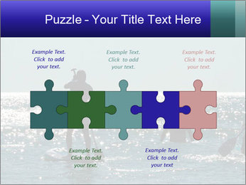 Group on the water PowerPoint Template - Slide 41