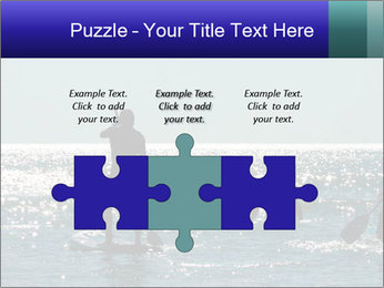 Group on the water PowerPoint Template - Slide 42