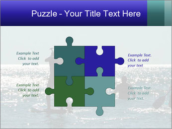 Group on the water PowerPoint Template - Slide 43