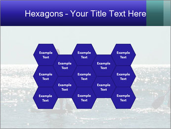 Group on the water PowerPoint Template - Slide 44