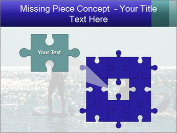 Group on the water PowerPoint Template - Slide 45