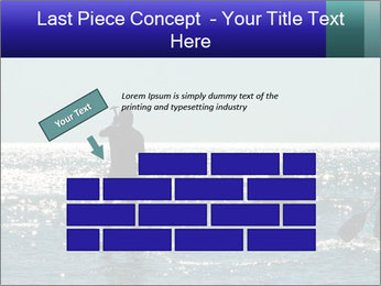 Group on the water PowerPoint Template - Slide 46