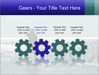 Group on the water PowerPoint Template - Slide 48