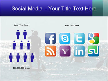 Group on the water PowerPoint Template - Slide 5