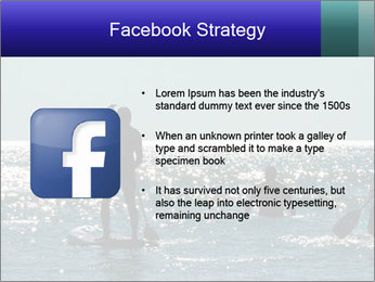 Group on the water PowerPoint Template - Slide 6