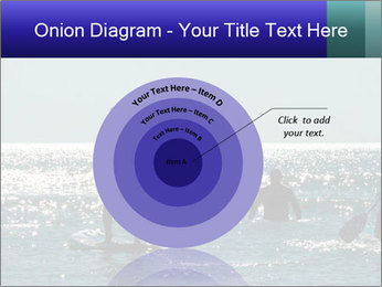 Group on the water PowerPoint Template - Slide 61