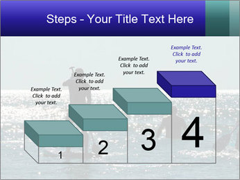 Group on the water PowerPoint Template - Slide 64