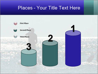 Group on the water PowerPoint Template - Slide 65