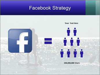 Group on the water PowerPoint Template - Slide 7