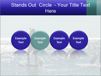 Group on the water PowerPoint Template - Slide 76