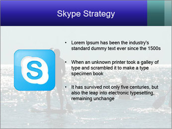 Group on the water PowerPoint Template - Slide 8