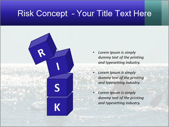 Group on the water PowerPoint Template - Slide 81