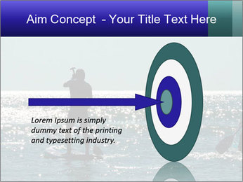 Group on the water PowerPoint Template - Slide 83