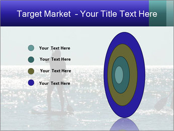 Group on the water PowerPoint Template - Slide 84