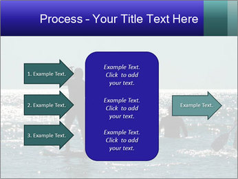 Group on the water PowerPoint Template - Slide 85
