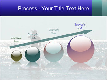 Group on the water PowerPoint Template - Slide 87